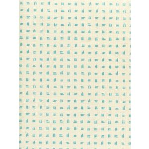 AC880-03 TATE Turquoise on Tint Quadrille Fabric