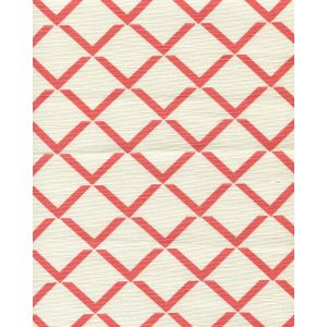 302331F TERRACE GRANDE Flame on Tint Quadrille Fabric