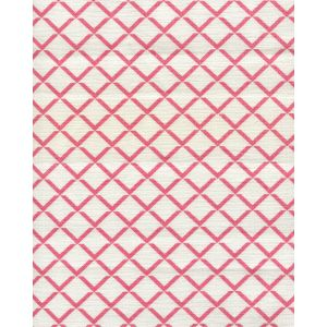 302309FW TERRACE Watermelon on White Quadrille Fabric