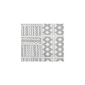 AC930SU-10WS TIE DYE Gray on White Quadrille Fabric