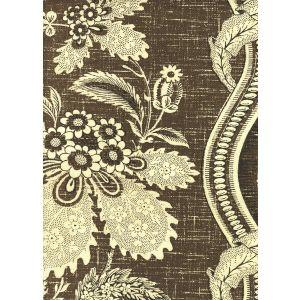 2525-10 TOILE MONTAIGUS Brown Quadrille Fabric