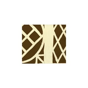 6025T-16 TRELLIS BACKGROUND Brown on Tint Quadrille Fabric