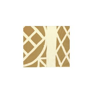 6025CU-02T TRELLIS BACKGROUND Camel II on Tint Quadrille Fabric