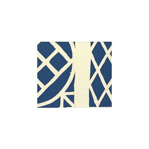 6025CU-09T TRELLIS BACKGROUND Navy on Tint Quadrille Fabric