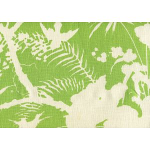 306236F TROPIQUE BLOTCH ONE COLOR Jungle Green on Tint Quadrille Fabric