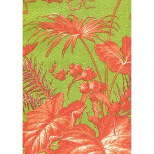 306277F TROPIQUE MULTI BLOTCH Multi Orange Pink Green Quadrille Fabric