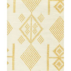 AC890-12 VACANCES Inca Gold on Tint Quadrille Fabric