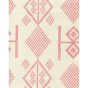 AC890-01 VACANCES Melon on Tint Quadrille Fabric