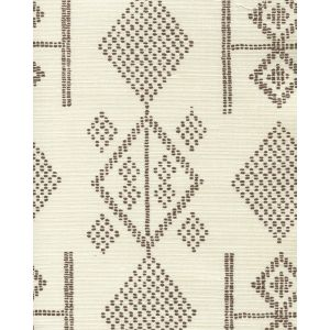 AC890-10 VACANCES New Brown on Tint Quadrille Fabric