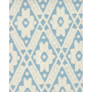 305050F VIENNESE Sky Blue on Tint Quadrille Fabric