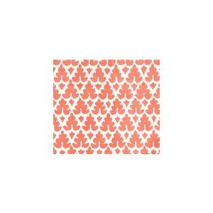 304041FOWSU VOLPI Orange on Off White Quadrille Fabric