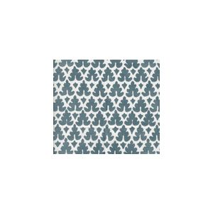 304045WSUN VOLPI Slates Blue on White Quadrille Fabric