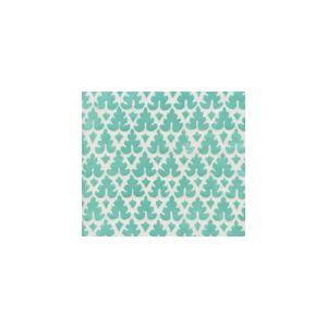 304058SUN VOLPI Aqua on White Quadrille Fabric