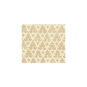 304042FWSUN VOLPI Pumice on White Quadrille Fabric