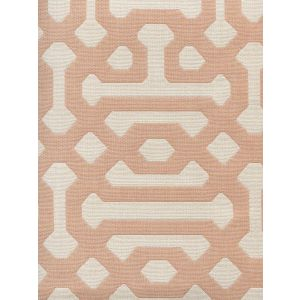 306403F WISCASSET Peach Cream  Quadrille Fabric