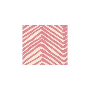 AC302-02 ZIG ZAG Pink on Tint Quadrille Fabric