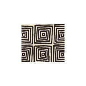 6170-25 ZIGGURAT Black on Tint Custom Only Quadrille Fabric