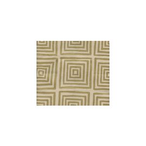 6170-11 ZIGGURAT Gold Metallic on Tan Custom Only Quadrille Fabric