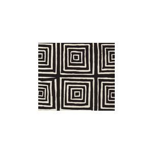 6175-25 ZIGGURAT REVERSE Black on Tint Custom Only Quadrille Fabric