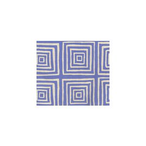 6175-21 ZIGGURAT REVERSE French Blue on Tint Custom Only Quadrille Fabric