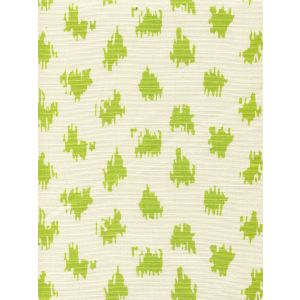 7340-05T ZIZI SPOT Chartreuse on Tint Quadrille Fabric