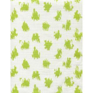 7340-05 ZIZI SPOT Chartreuse on White Quadrille Fabric