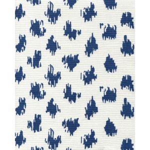 7340-06 ZIZI SPOT Navy on White Quadrille Fabric