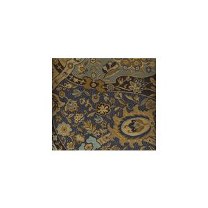 009681T ZODIAC Multi Blue Gold Black Quadrille Fabric