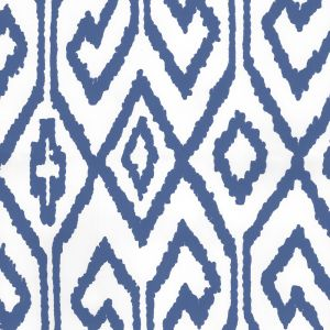 7240-13WPV AQUA IV Navy On White Vinyl Quadrille Wallpaper
