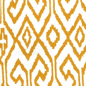 7240-02WP AQUA IV Yellow On White Quadrille Wallpaper