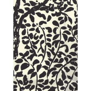 2030-11WP ARBRE DE MATISSE Black On Off White Quadrille Wallpaper