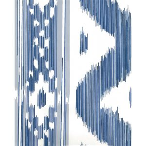 2020-01AWP BALI HAI Multi Blues On Almost White Quadrille Wallpaper