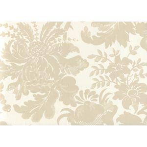 306080W DES GARDES Pumice On Off White Quadrille Wallpaper