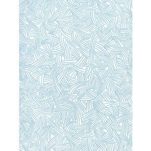AP404-07 INTERWEAVE Dark Turquoise On Almost White Quadrille Wallpaper