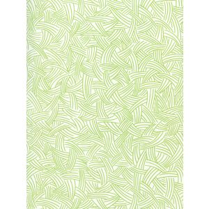 AP404-03 INTERWEAVE Jungle Green On Almost White Quadrille Wallpaper