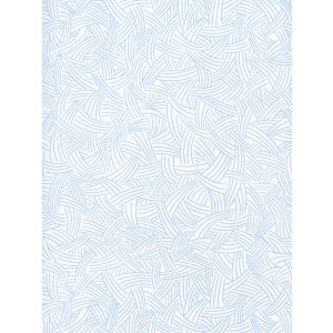 AP404-01 INTERWEAVE Light Blue On Almost White Quadrille Wallpaper