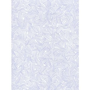 AP404-05 INTERWEAVE Periwinkle On Almost White Quadrille Wallpaper