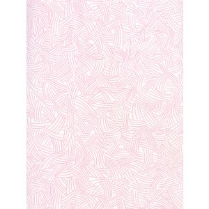 AP404-02 INTERWEAVE Soft Pink On Almost White Quadrille Wallpaper