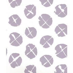 6650WP-04-1000 OBI II Lavender On Almost White Quadrille Wallpaper
