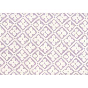 306330W-05 PUCCINI Lavender On Almost White Quadrille Wallpaper