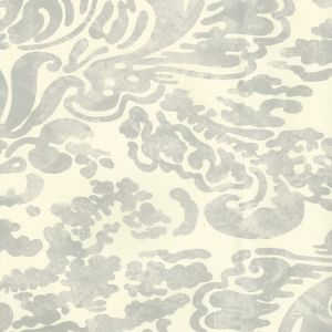 2330-41OAW SAN MARCO Gray On Off White Quadrille Wallpaper