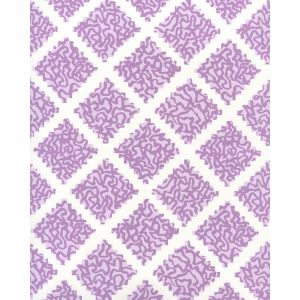 JW01000-05WP SHANGHAI Lilac On White Quadrille Wallpaper