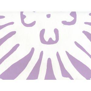 2480-19WP SIGOURNEY REVERSE LARGE SCALE Lavender On White Quadrille Wallpaper