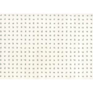 AP880-07AWP TATE Dark Grey On Almost White Quadrille Wallpaper