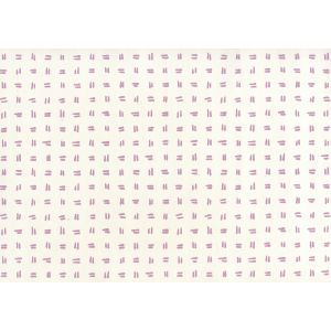 AP880-02AWP TATE Lavender On Almost White Quadrille Wallpaper