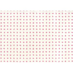 AP880-05AWP TATE Pink On Almost White Quadrille Wallpaper