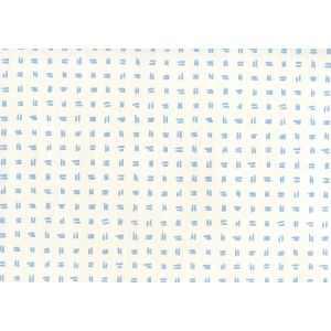 AP880-01AWP TATE Sky Blue On Almost White Quadrille Wallpaper