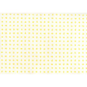AP880-04AWP TATE Yellow On Almost White Quadrille Wallpaper
