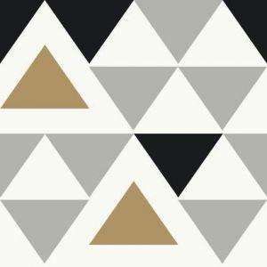 RMK9055WP Geometric Triangle Wall Appliques York Wallpaper