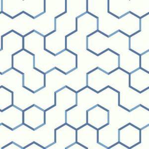 RMK9093WP Open Geometric Wall Appliques York Wallpaper